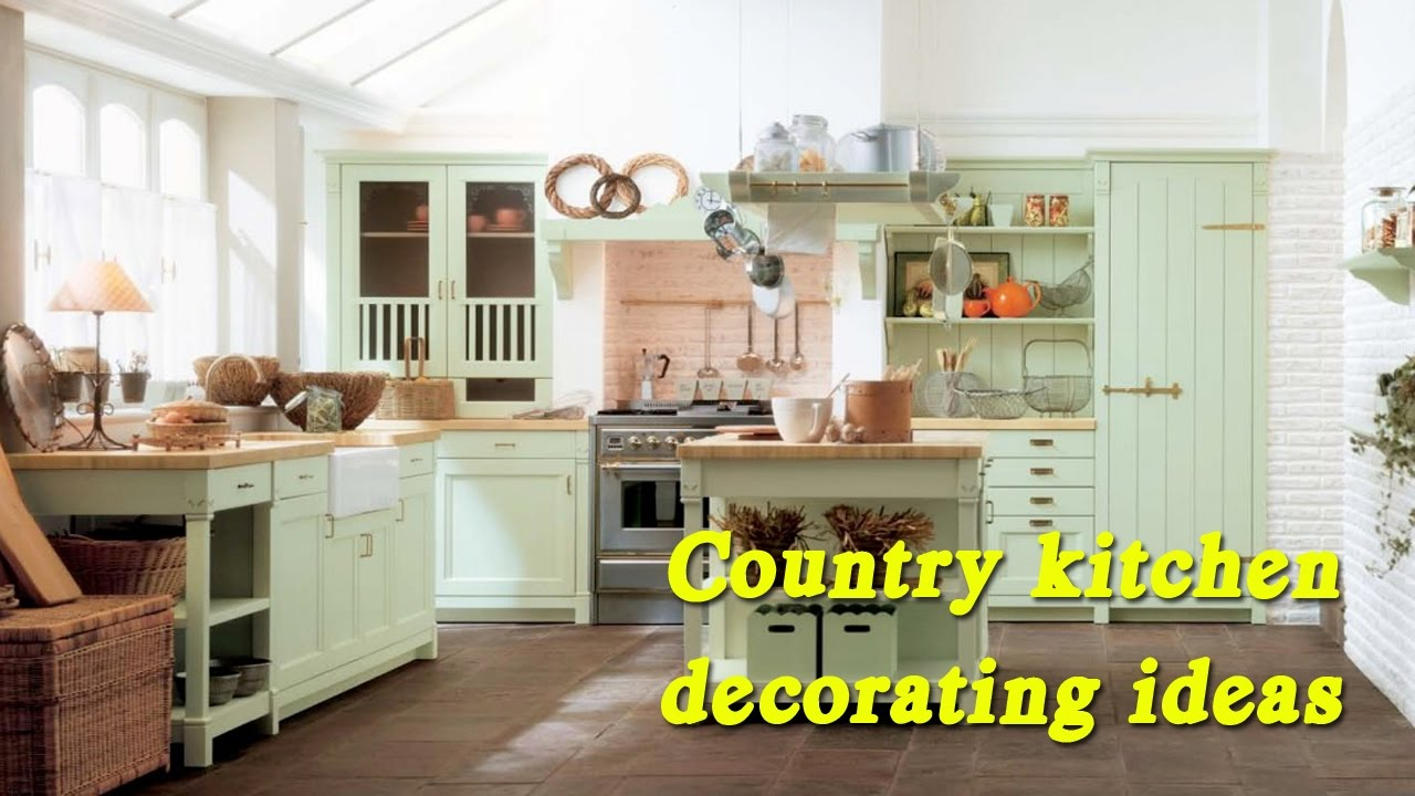 country kitchen decorating ideas farmhouse country kitchen decorating ideas vintage ideas retro design youtube