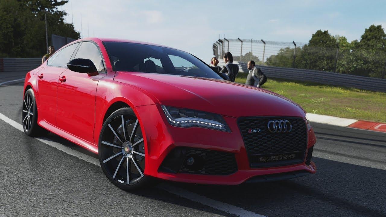 Forza Motorsport 5 Race Audi Rs7 Sportback Youtube