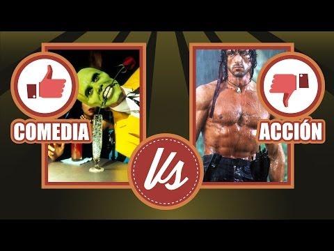 Confrontación: Pelis de Comedia vs Pelis de Acción