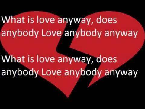 What is Love Howard Jones Lyrics video