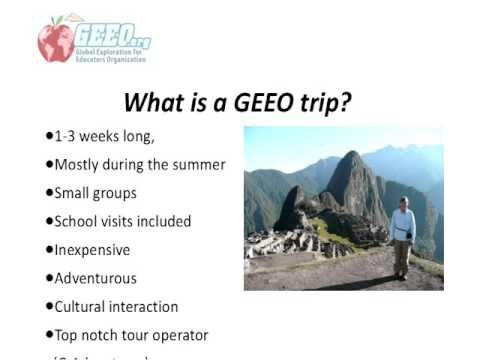 GEEO Presentation at Global Education Conference