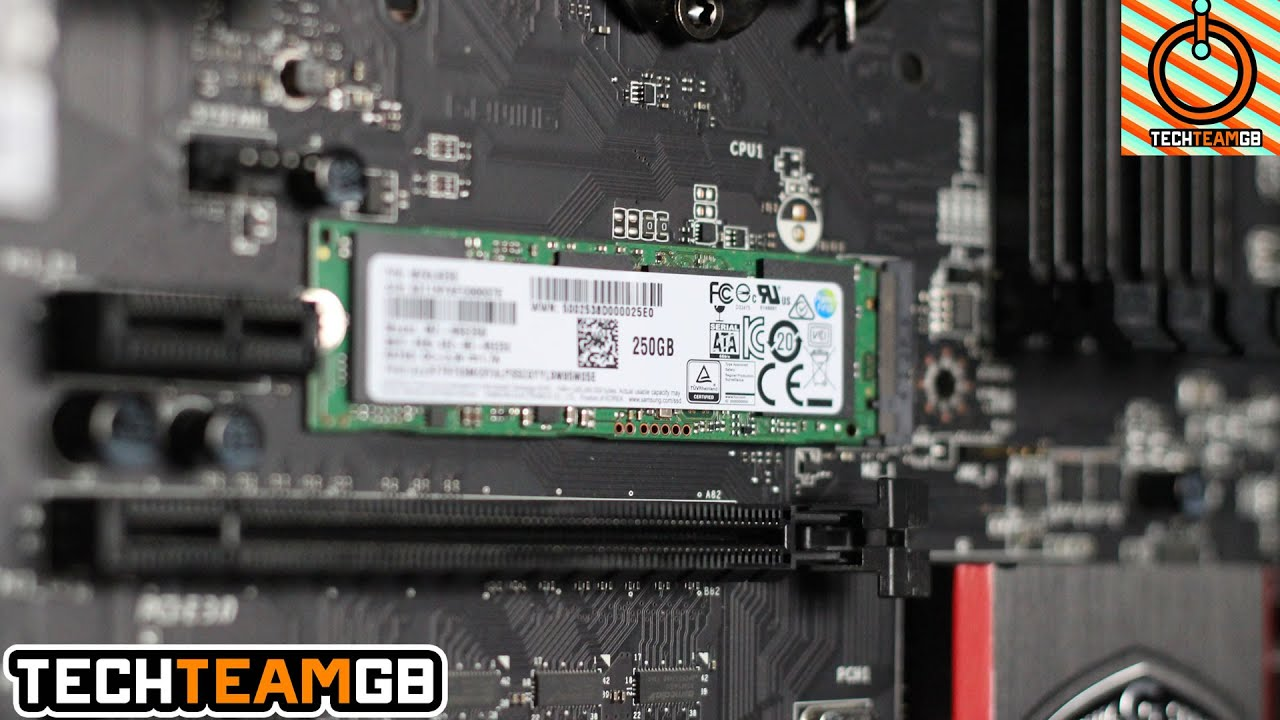 Samsung 850 Evo M 2 Ssd Review Youtube