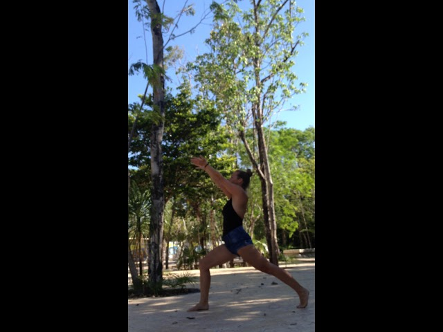 Pranacore method warm up - Tulum