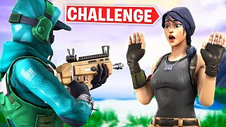Eliminating Female Skins ONLY Challenge in Fortnite