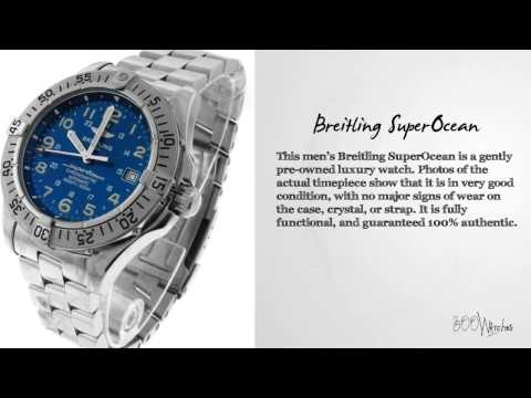 View This Pre Owned Breitling A17360 SuperOcean Stainless Steel Automatic WR 1500m Watch
