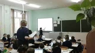 "Видео урок литературного чтения по теме: ""Буква И,и"""