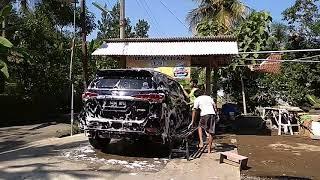 Cuci Mobil Motor Pake Salju di Prembun