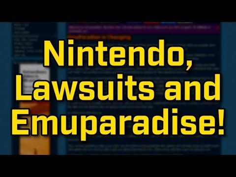 Emuparadise, Nintendo and Lawsuits!