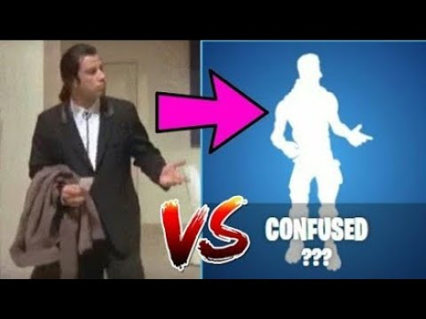 All New Fortnite Dances In Real Life Confused Wiggle R Doovi