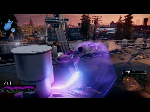inFAMOUS: Second Son - Neon Power Gameplay & Free Roam