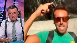 """Un gaditano en Trafalgar: """"Quillo, bájate de ahí que eso es España"""" - El Intermedio"""