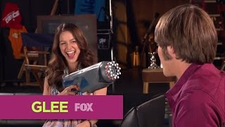 GLEE | FOX Lounge: Melissa & Blake