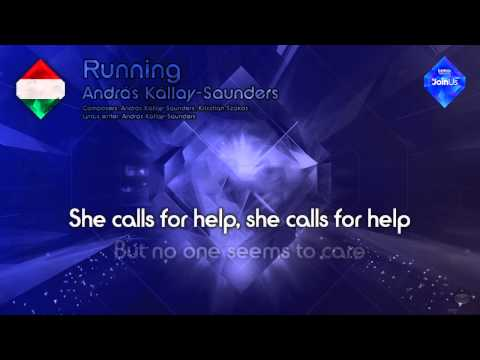 "András Kállay-Saunders - ""Running"" (Hungary) - [Karaoke version]"