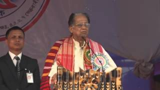 CM Tarun Gogoi addressing the 85th Session of Srimanta Sankaradeva Sangha