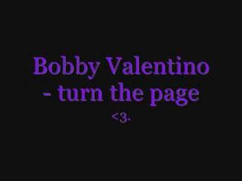 Bobby valentino- turn the page