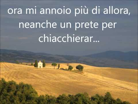 Azzuro - Adriano Celentato (with lyrics - con lirica)