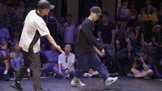 Hokt vs Shigekix【REDBULL BCONE CYPHER JAPAN2019】|BEST16