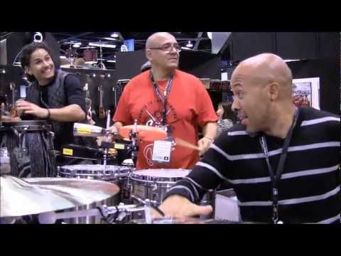 Tycoon drums latin All Star LIVE percussion Trio Cuban Venezuelan impromptu Calixto & Vilera &