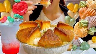 """一生に一度は食べてみたい悪魔のスイーツ""""バターガーリック台湾カステラ""""と""""メレンゲクッキー""""【新カステラ】【スイーツちゃんねるあんみつの食レポ】"""