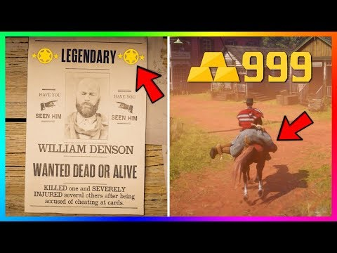 Become A Millionaire QUICK & EASY - Red Dead Online Ultimate BOUNTY HUNTER Role Money Making Guide!