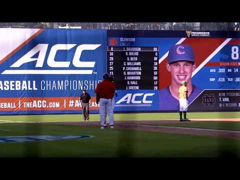 Clemson Baseball || Notre Dame Game Highlights - 5/23/18