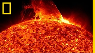 Earth Orbiting Telescope Sees Far Side of Sun for the First Time | National Geographic