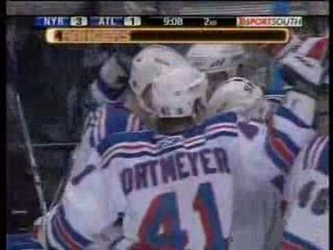 Rangers@Thrashers Game 1