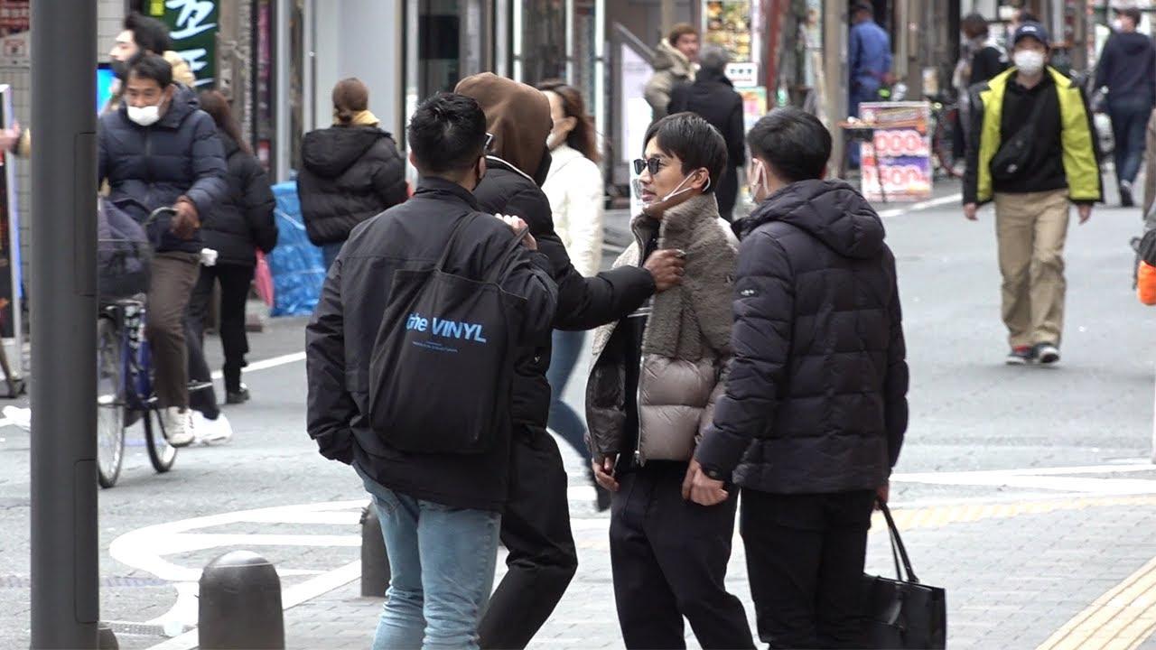 朝倉海に激似の芸人が本人に変装して歩いている時にイカつい人に因縁つけられたらどうなるのか