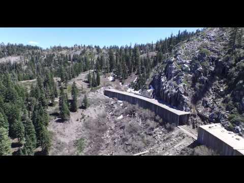 Phantom 3 Pro 4k- Donner Pass Abandoned  Railroad Tunnels