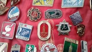 Коллекция значков Ленина