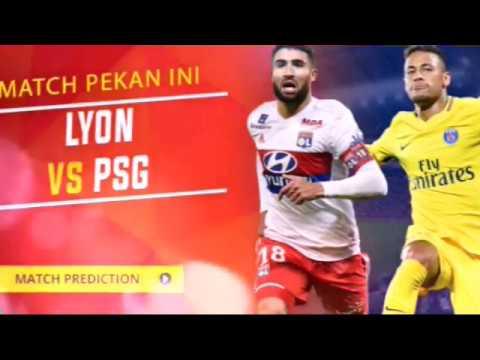 Live Streaming PSG Vs Lyon