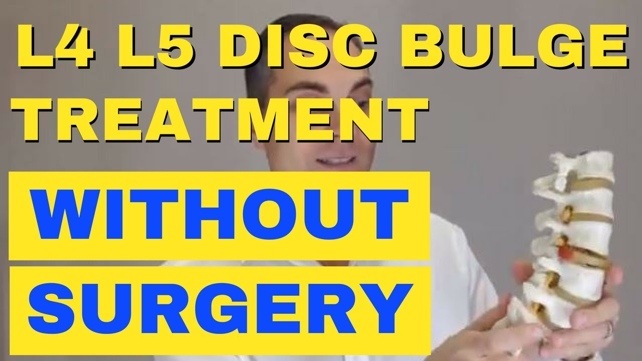 L4 L5 Disc Bulge Treatment Without Surgery -How To Relieve L4 L5 Back Pain - Chiropractor in Vaughan