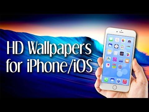 HD Wallpapers for iPhone/iOS via Zedge App