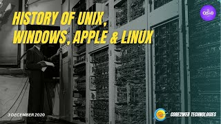 Download HISTORY OF UNIX, WINDOWS, APPLE, & LINUX ! |  Lecture- 02| Operating System Batch 2020