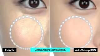 Виброспонж для лица. 3D макияж.