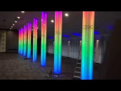 Dream Color Programmable Led Column Youtube
