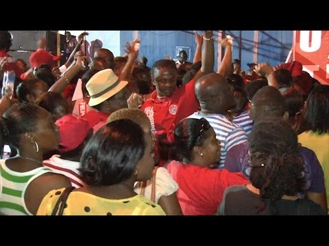 Denzil Douglas: Labour takes over Bank Street