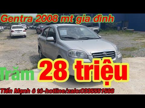 Mua bán xe ô tô cũ giá rẻ tại hải phòng - Báo Giá  Xe ÔTô 128 triệu gentra 2008 MT quá rẻ quá đẹp