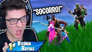 I BOUGHT THE ZOMBIE'S SKIN AND I TAKED THE TERROR! Fortnite: Battle Royale