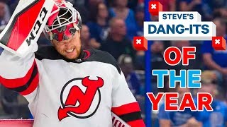 NHL Worst Plays of The Year | Steve's Dang-Its