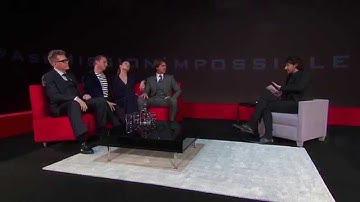Mission: Impossible Rogue Nation - #AskMissionImpossible Cast Q&A