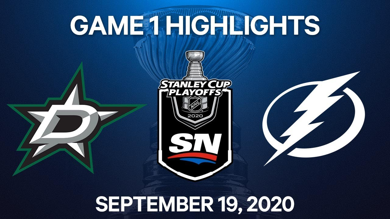 Lightning bounce back to even Stanley Cup Final with Stars 1-1