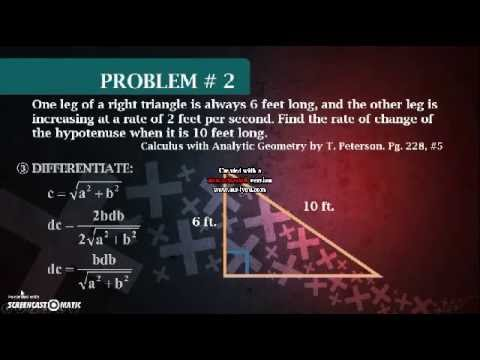 Time Rates (Differential Calculus)