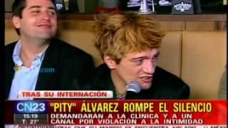 Ejes - Pity Álvarez rompió el silencio tras su internación