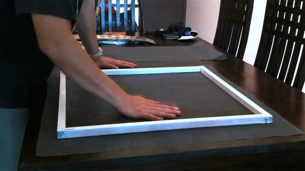 How to build a wooden window screen - DIY Now - YouTube