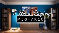 5 Biggest Home Staging Mistakes Home Sellers Make | DIY & Home Design