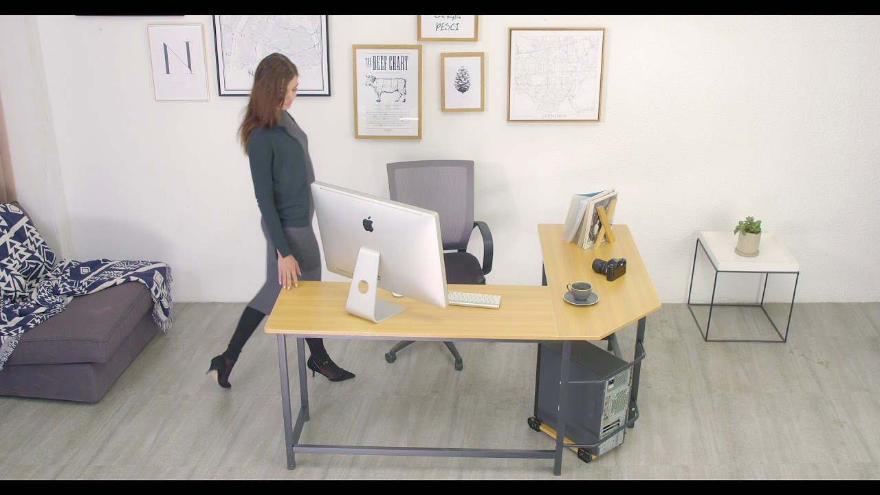 info for 72ea3 afcdd Tribesigns L Shaped Desk Coner Computer Desk Office Desk for Home Office