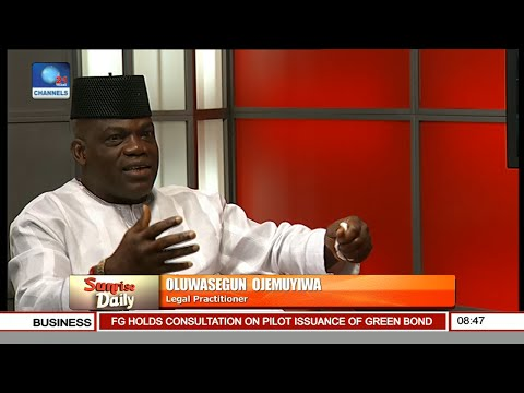 The 'Change Begins With Me' Agenda Brought Out At The Wrong Time And Season -- Ojemuyiwa Pt. 1