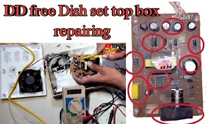 DD free Dish set top box power supply repair