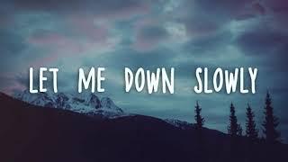 """Download 1 Hour - Alec Benjamin - Let Me Down Slowly (""""Let me down"""" loop)"""